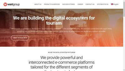 Site internet de Visit Technology