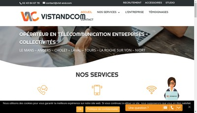 Site internet de Vist And Com