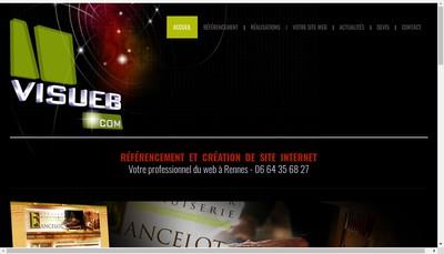 Site internet de Visueb
