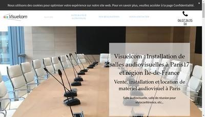 Site internet de Visuelcom