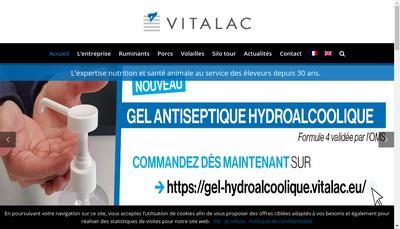 Site internet de Vitalac