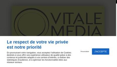 Site internet de Vitale Media