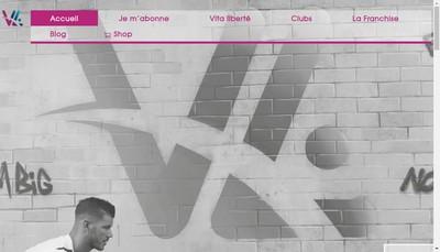 Site internet de Vita Liberte