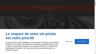 Site internet de Vitesse Auto Services