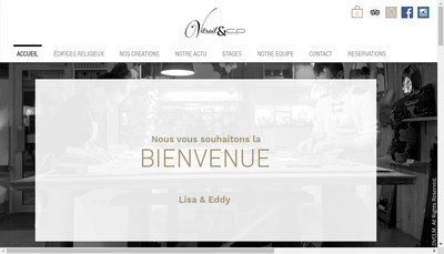 Site internet de Vitrail & Co