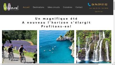 Site internet de Vivarel Voyages