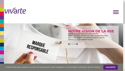 Site internet de Vivart