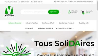 Site internet de Vivendia