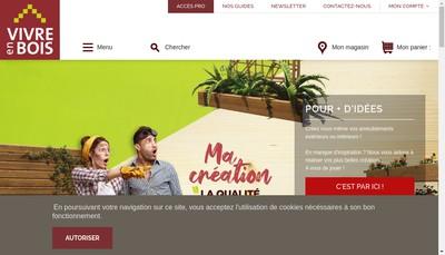 Site internet de Amenagements Bois de Provence