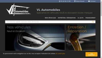 Site internet de Vl Automobiles