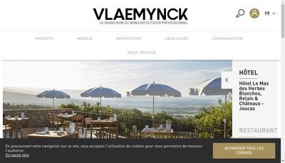 Site internet de Vlaemynck