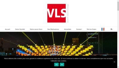 Site internet de VLS