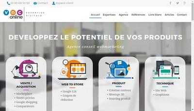 Site internet de Vnc Online