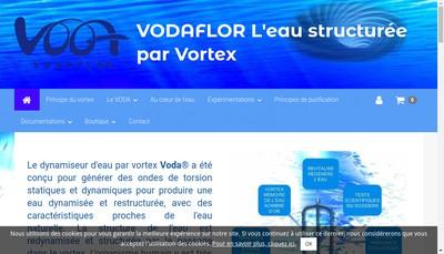 Site internet de Vodaflor