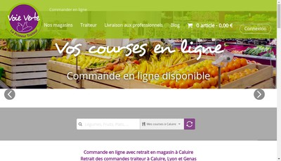 Site internet de Voie Verte