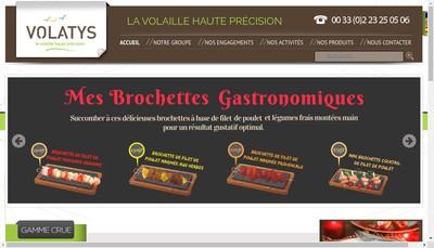 Site internet de Volatys