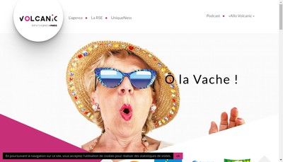 Site internet de Volcanic