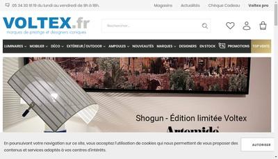 Site internet de Voltex Developpement