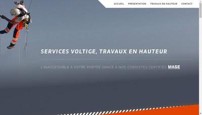 Site internet de Anh Services Voltige