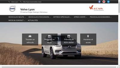 Site internet de Felix Faure Automobiles
