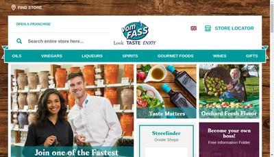 Site internet de Vom Fass