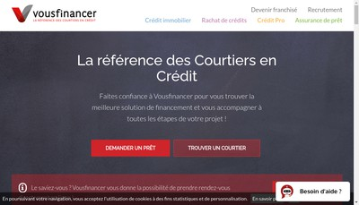 Site internet de Vousfinancer Com