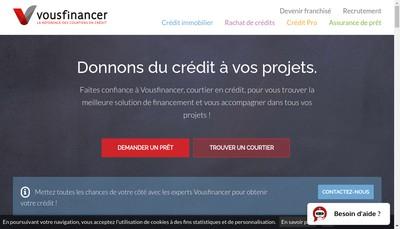 Site internet de Vousfinancer Com