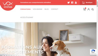 Site internet de Vox animae