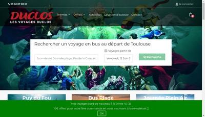 Site internet de SARL le Duclos Smc