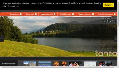 Site internet de Tango et Tango Lointain