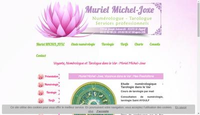 Site internet de Muriel Michel