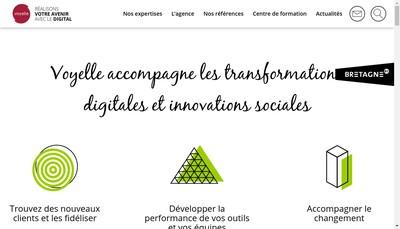 Site internet de Voyelle