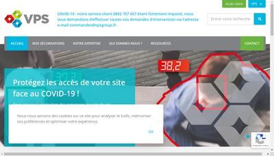 Site internet de Vpsitex