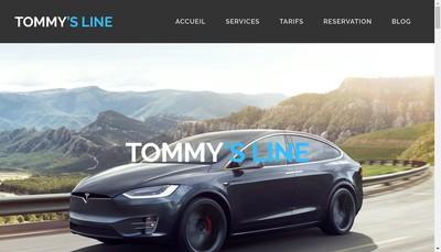 Site internet de Tommy'S Line