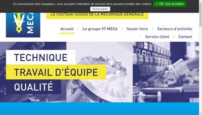 Site internet de Vt Holding