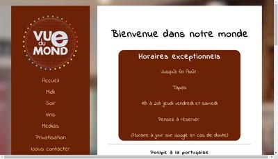Site internet de Vue du Monde