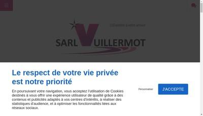 Site internet de Entreprise Vuillermot