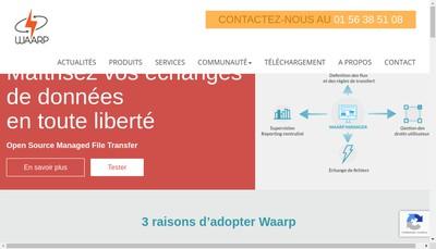 Site internet de Waarp