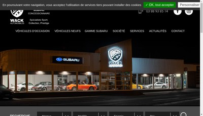 Site internet de Garage Koch Jules