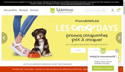 Site internet de Wanimo