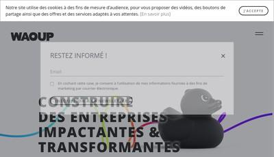 Site internet de Waoup