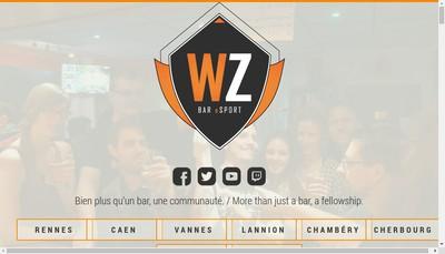 Site internet de Warpzone