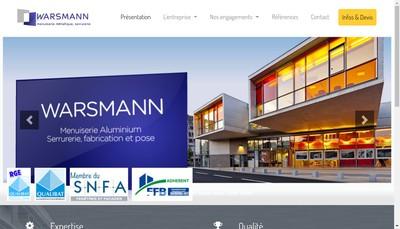 Site internet de Etablissements Warsmann