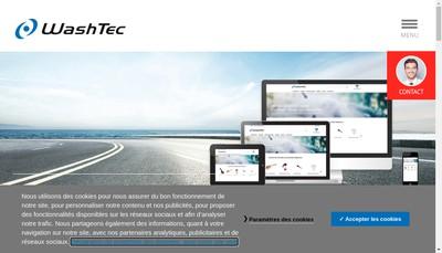 Site internet de Washtec France