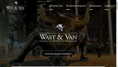 Site internet de Wast & Van