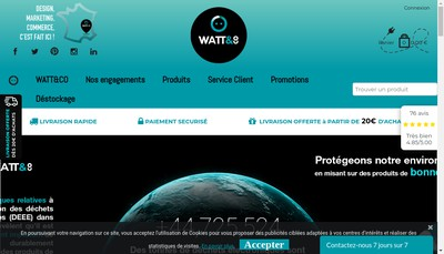 Site internet de Watt And Co