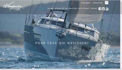 Site internet de Wauquiez Boats