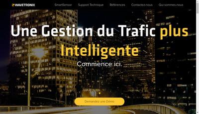 Site internet de Wavetronix France