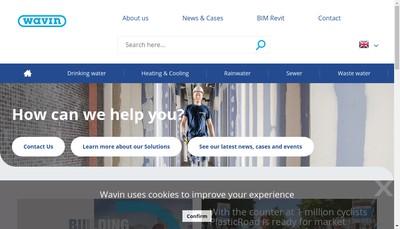 Site internet de Wavin SAS