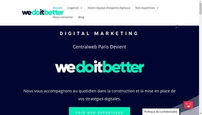 Site internet de We Do It Better